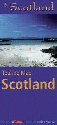 STB Touring Map of Scotland (Touring Guide) Sheet map, folded Book The Cheap