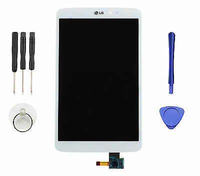 Fit For LG G Pad 8.3 V500 WIFI White LCD Display Glass Touch Screen Digitizer