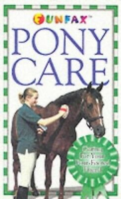 Horse and Pony: Pony Care (Funfax) Paperback Book The Cheap Fast Free Post