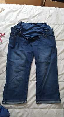 Pantacourt grossesse jeans _ taille 46