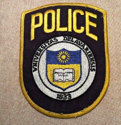 DE University of Delaware Police Patch
