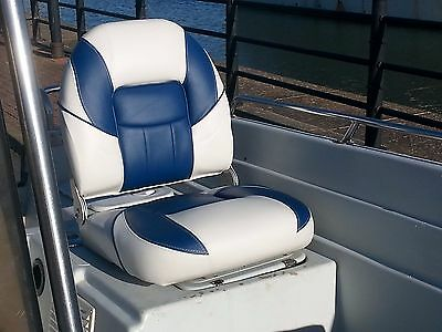 Boat seat  best quality foldable  marine boat seat available Video inside