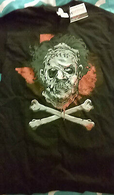 'leatherface' T-Shirt (Texas Chainsaw Massacre) Size Small Unisex