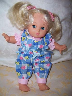 Vinyl Soft Body Doll Era Simba Open Shut Eyes Rooted Blond Hair Original Outfit