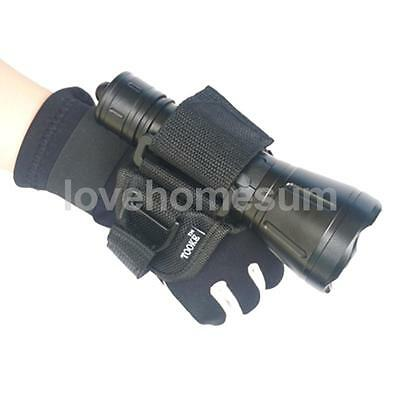 Waterproof Hand Free Glove for Scuba Diving Underwater Torch LED Flashlight
