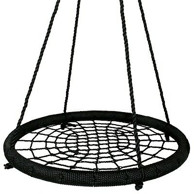 100cm Diameter Large Nest Swing Spider Web Kids Ring Seat FREE DELIVERY