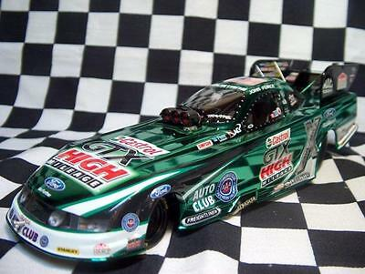 2012 John Force Castrol Ford Mustang 1:24th Color Chrome NHRA Funny Car