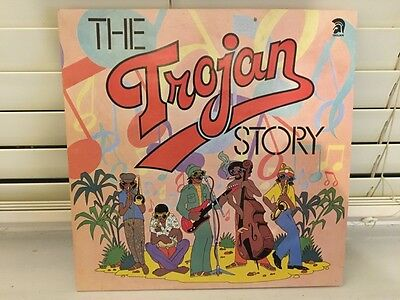 The TROJAN STORY double vinyl LP Skinhead Reggae