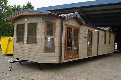 QUALILUMINAR WINDSOR 40x13FT 2 BED BRAND NEW DOUBLE GLAZED AND CENTRAL HEATED