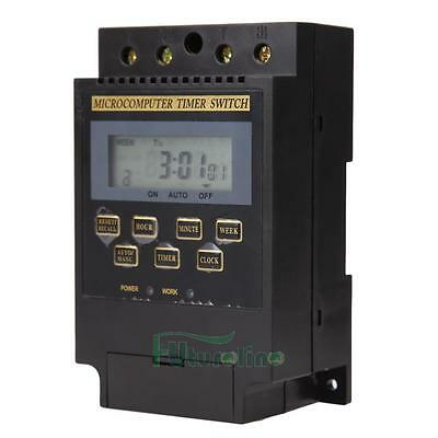 AC 220V LCD Microcomputer Timer Switch Programmable Controller KG316T