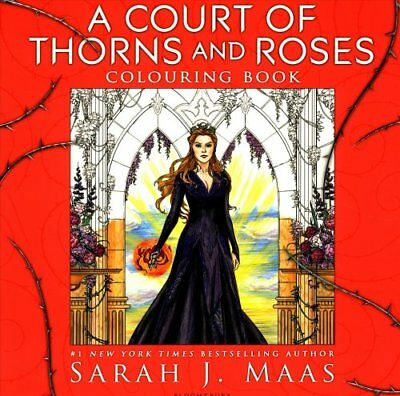 A Court of Thorns and Roses Colouring Book by Sarah J. Maas (Paperback, 2017)
