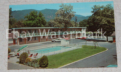 GRANTS PASS OREGON OR City Center Motel Vintage Chrome Postcard