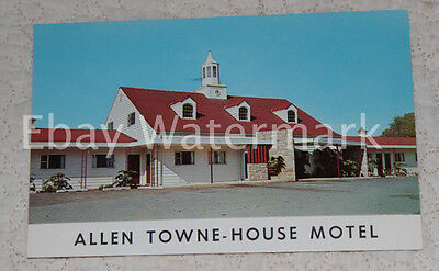 ALLENTOWN PENNSYLVANIA PA Towne House Motel Vintage Chrome Postcard