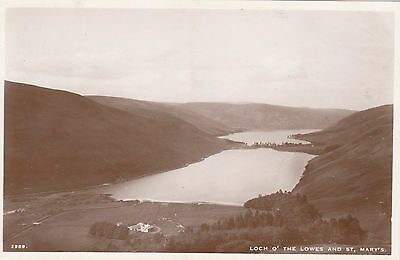 Loch O' The Lowes & St.Mary's, Nr DRYHOPE, Selkirkshire RP
