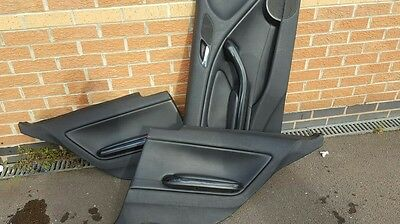 BMW E46 coupe door interior panels leather, front right hand panel missing