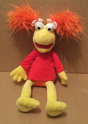 """Red Fraggle Rock 17"""" inch Plush Soft Toy Jim Henson Muppets"""
