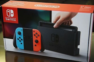 Nintendo NEON switch box ONLY