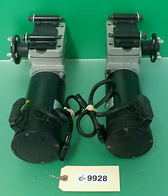 Left & Right 4 Pole Motors Invacare Storm TDX 3 with gearboxes  #9928