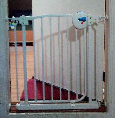 USED Baby Pet Safety Security Stair Barrier Gate 75~82cm