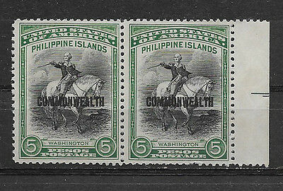 Philippines , Usa , 1936/37 , Washington/cw ,  Block Of 2.  Perf, Mng