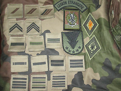 French Foreign Legion Etrangere 11 BP-2 REP-GCP-set
