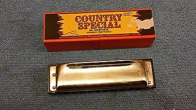 Hohner Country Special Harmonica With Box Key G Germany