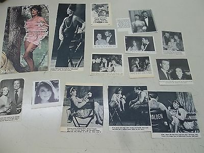 Natalie Wood   lot of clippings  #703