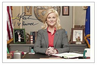 4x6 SIGNED AUTOGRAPH PHOTO PRINT OF AMY POEHLER PARKS AND RECREATION #38