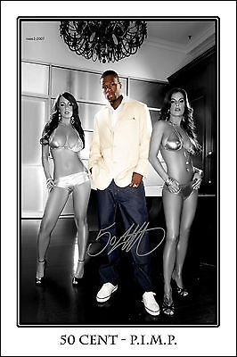 4x6 SIGNED AUTOGRAPH PHOTO PRINT OF 50 CENT #51