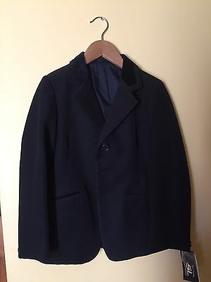 "Shires Black Childs Show Jacket 28"" BNWT"