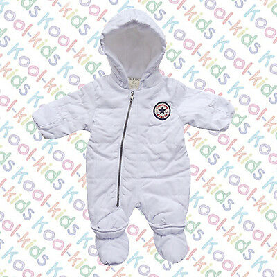 Converse White Baby Unisex Snow Suit - Bnwts