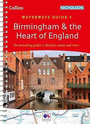 Birmingham & the Heart of England No. 3 by Collins Maps 9780007538997