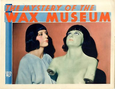 The Mystery of the Wax Museum 1933  Lobby Card
