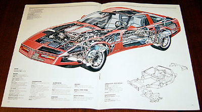 Chevrolet Corvette  - technical cutaway drawing