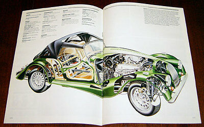 Morgan Four Wheelers - technical cutaway drawing