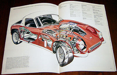 TVR Tuscan SE - technical cutaway drawing