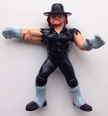 WWF Hasbro The Undertaker Wrestling Action Figure Series 4 WCW Vintage