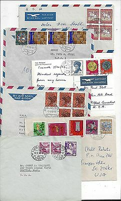 Switzerland 1960s - 1970s Cover Lot, Semipostal Franking