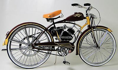 Schwinn 1 Vintage Bicycle Bike 1940s Antique Classic Cycle Metal Midget Model