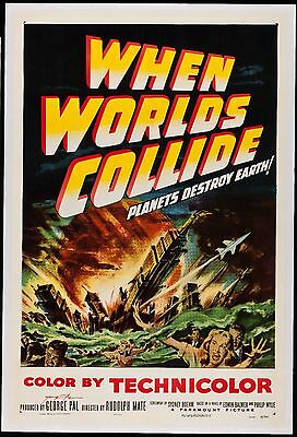 When Worlds Collide One Sheet 1951