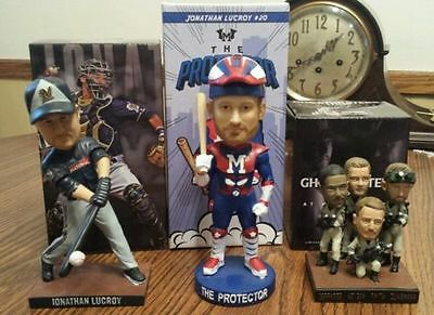 2016 15 Milwaukee Brewers Special Bobbleheads Ghostbusters Superhero SSH Lucroy