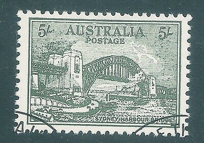 Australia  1972 ANPEX  Sydney Harbour Bridge  5/- No Wmk   FINE USED