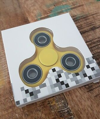 Yellow Fidget Spinner! Ships from Canada!