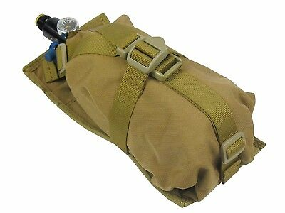 Russian Pouch Case molle pals coyote brown Ninja Air Tank PAINTBALL bag airsoft