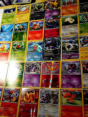 Pokemon Cards - 50 CARD LOT COMMON, UNCOMMON, RARE, HOLO + 1 BOOSTER PACK!!!
