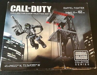 Mega Bloks Call of Duty Rappel Fighter [06865] NEW