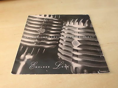 """Luther Vandross Mariah Carey Endless Love 7"""" Vinyl Pic Slve Combined Postage"""