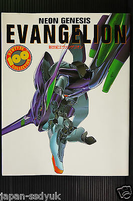 JAPAN Evangelion NEWTYPE 100% Collection (Art & Guide Book)