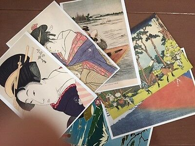Hokusai  Fugaku36  2Cards & Ukiyoe 3Card &mt.fuji 1Card Postcard Set Of 6