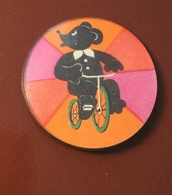 Vintage Collectable Kitsch Baltic Cartoon Elephant Signed 425 Gold Badge